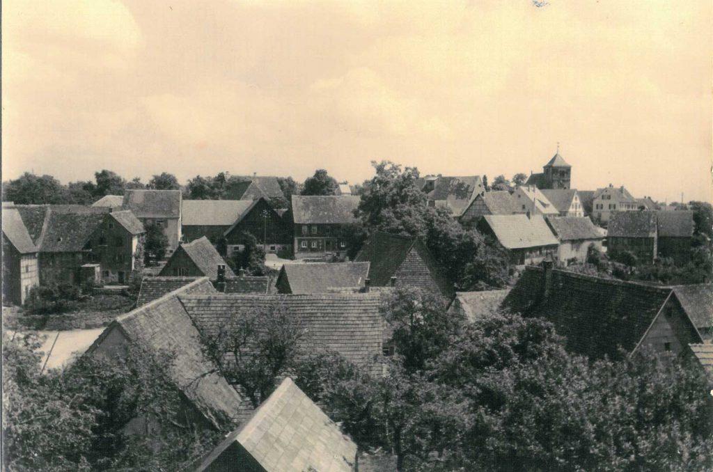 Blick auf Michelbach von der Dörrsteige aus