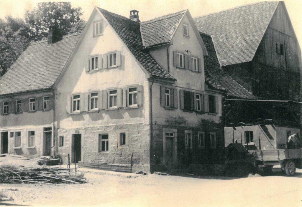 Das alte Haus Köhnlein (Maurermeister) in der Liebesdorfer Straße