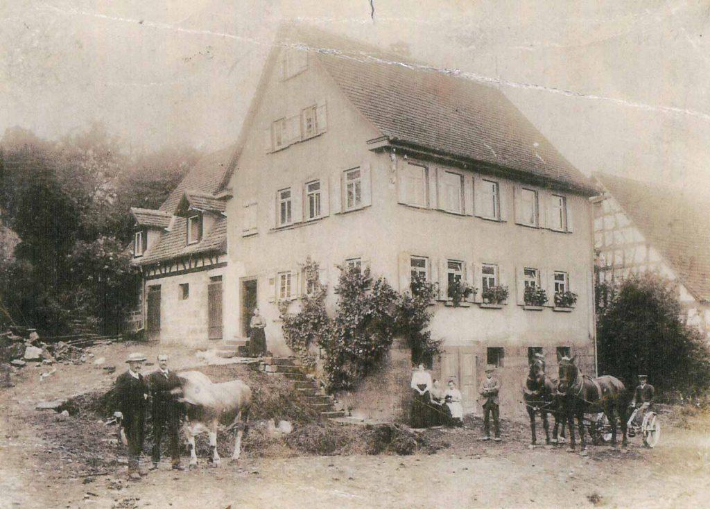 Das alte Haus Schumann an der Dörrsteige
