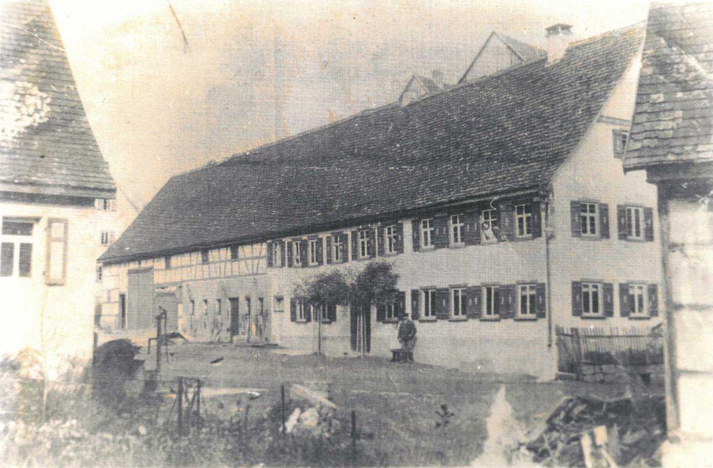 Das Gasthaus Zum Lamm vor 1923