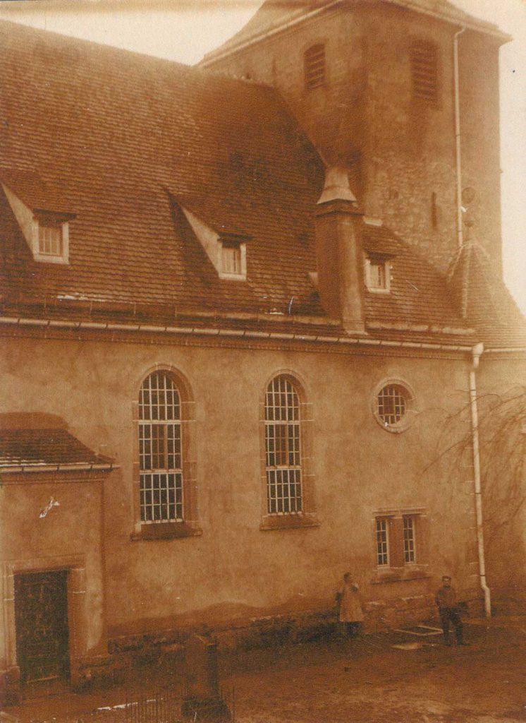 1930 Kirche aus nördlicher Richtung