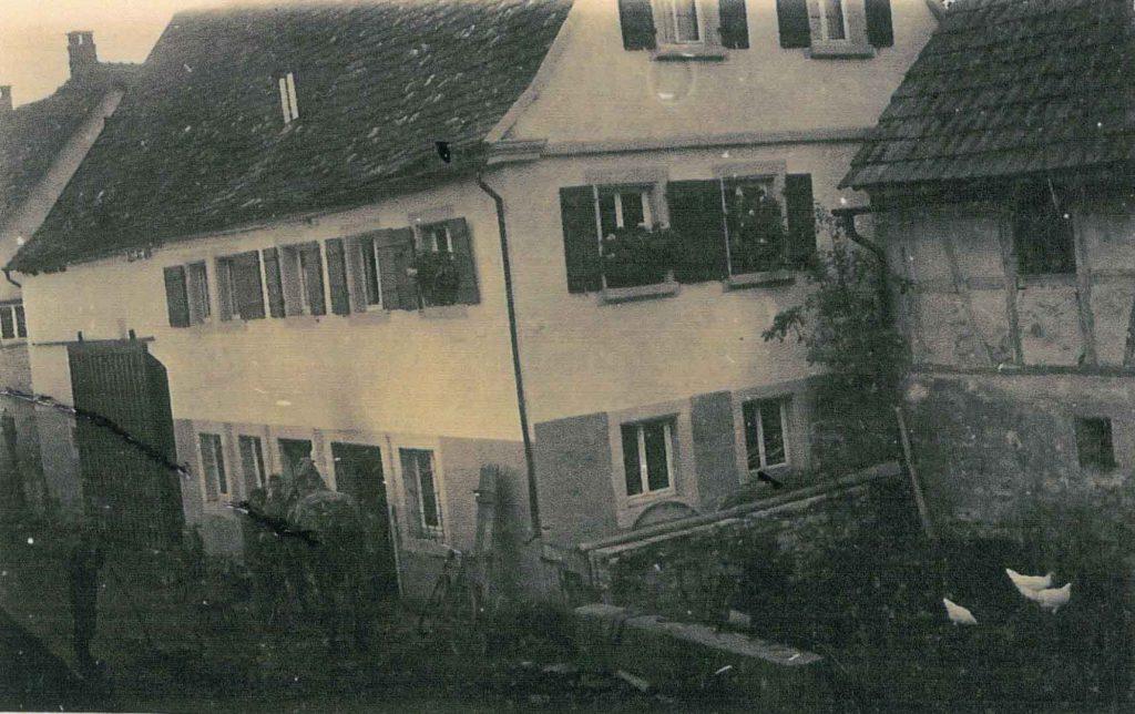 Haus Ehrmann in der Oberen Gasse, die alte Schmiede