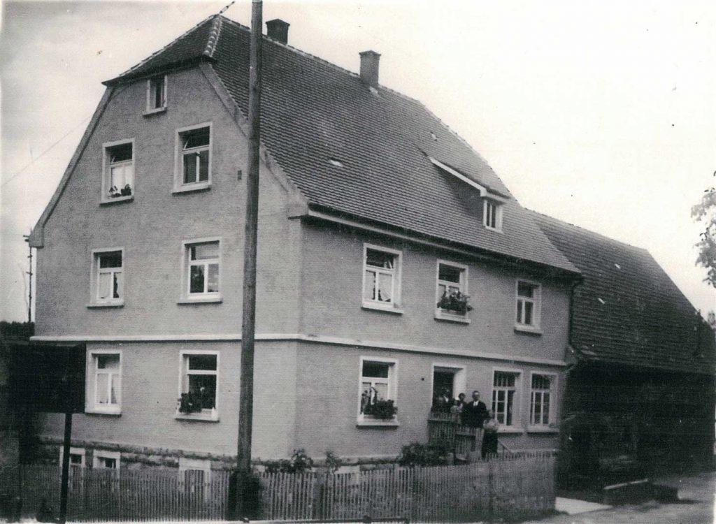 1932 Haus Engelhard / Tauberschmidt in der Ludwigsruher Straße