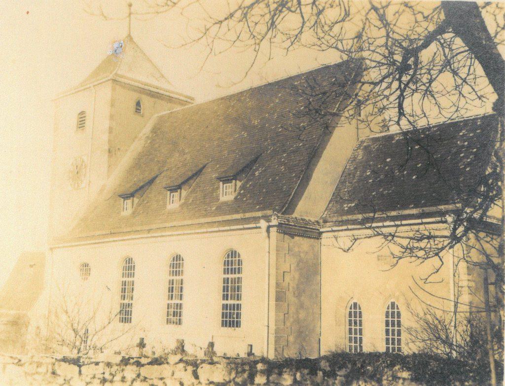 1930 Kirche aus südlicher Richtung